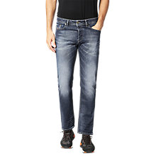 Buy Diesel Thommer Jeans, Washed Indigo Online at johnlewis.com