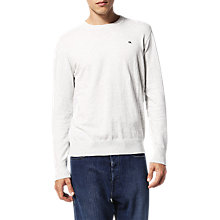 Buy Diesel K-Pablo Jumper, Light Grey Online at johnlewis.com