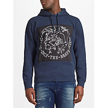 Buy Diesel S-Albert Hoodie, Total Eclipse Online at johnlewis.com