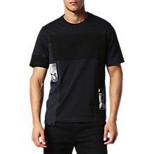 Buy Diesel T-Low T-Shirt, Black Online at johnlewis.com