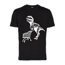 Buy Diesel T-Joe T-Shirt, Black Online at johnlewis.com