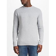 Buy Diesel Sami K-Gee Jumper, Light Grey Melange Online at johnlewis.com
