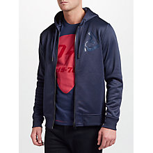 Buy Diesel S-Flyer Hoodie, Peacoat Blue Online at johnlewis.com