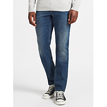 Buy Diesel Larkee-Beex Jeans, Mid Blue Online at johnlewis.com