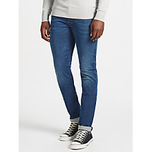 Buy Diesel Buster Denim Jeans, Mid Blue Online at johnlewis.com