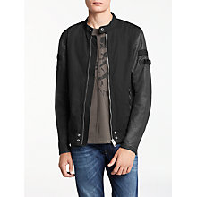 Buy Diesel J-Mot Jacket, Black Online at johnlewis.com