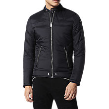 Buy Diesel W-Deacon Jacket, Black Online at johnlewis.com