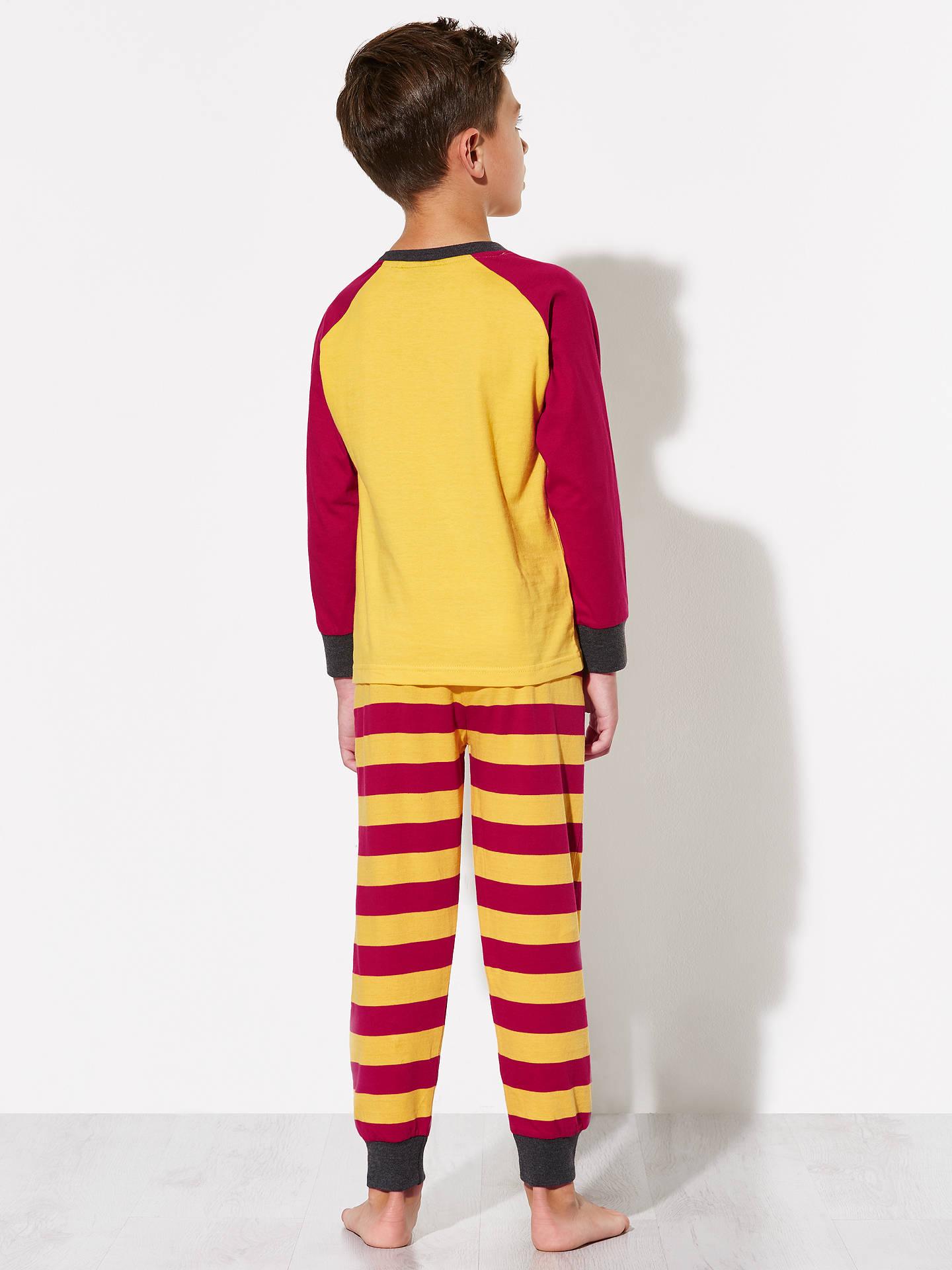 despeje ventas especiales buscar genuino Harry Potter Children's Gryffindor Pyjamas, Yellow/Red at ...
