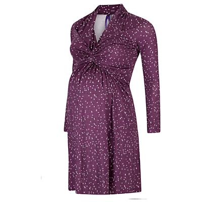 Séraphine Helen Dot Nursing & Maternity Dress, Purple