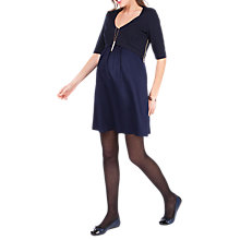Buy Séraphine Lucy Maternity Nursing Dress, Navy Online at johnlewis.com