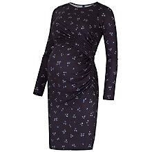 Buy Séraphine Kelly Elsie Maternity Dress, Navy Online at johnlewis.com