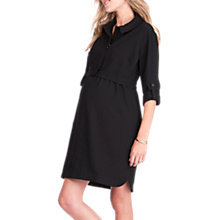 Buy Séraphine Grace Maternity Nursing Dress, Black Online at johnlewis.com