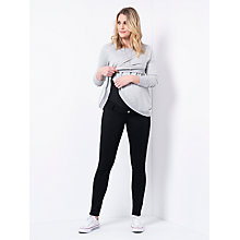 Buy Séraphine Sybil Cross Over Nursing Sweater, Grey Marl Online at johnlewis.com