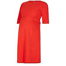Buy Séraphine Luxe Francesca Maternity Dress, Claret Online at johnlewis.com
