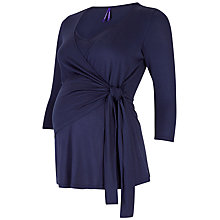 Buy Séraphine Vilitsa Tie Side Maternity Nursing Top Online at johnlewis.com