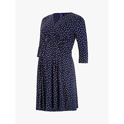 Séraphine Eva 3/4 Sleeve Maternity Dress, Navy