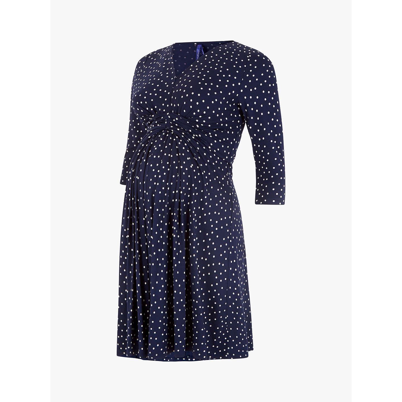 BuySraphine Eva 34 Sleeve Maternity Dress Navy