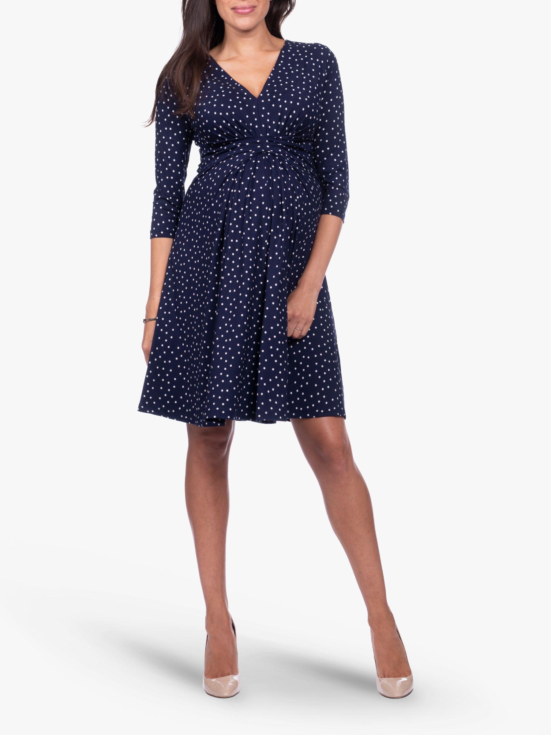 Séraphine Séraphine Eva 3/4 Sleeve Maternity Dress, Navy
