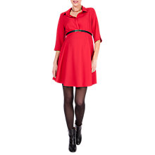 Buy Séraphine Pheobe Maternity Dress, Red Online at johnlewis.com