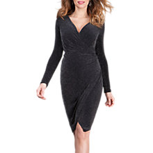 Buy Séraphine Luxe Florence Maternity Dress, Black Online at johnlewis.com