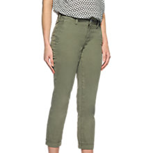 Buy NYDJ Riley Relaxed Fit Trousers, Sergeant Olive Online at johnlewis.com