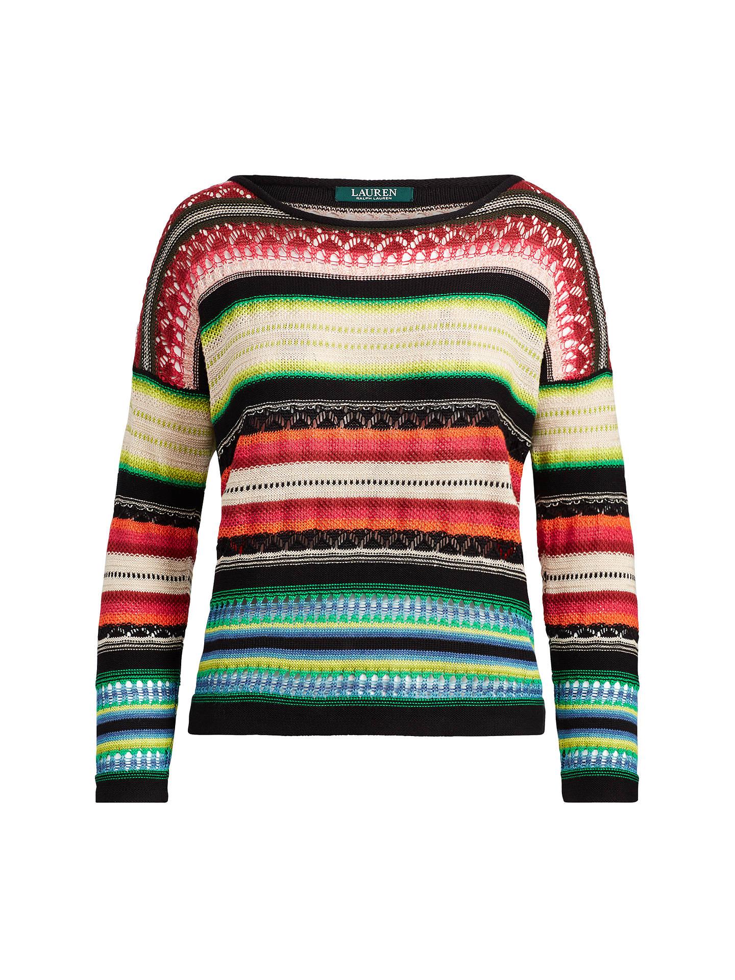 d0ae6677557 Buy Lauren Ralph Lauren Stripe Cotton Linen Jumper