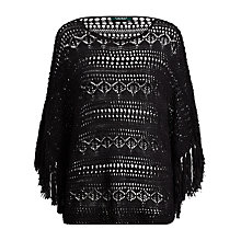 Buy Lauren Ralph Lauren Crochet Jumper, Polo Black Online at johnlewis.com