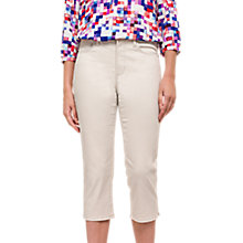 Buy NYDJ Ariel Cropped Jeans, Clay Online at johnlewis.com