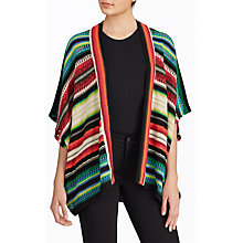 Buy Lauren Ralph Lauren Stripe Cardigan, Multi Online at johnlewis.com