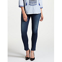 Buy AG The Prima Mid Rise Skinny Jeans, 4 Years Rapids Online at johnlewis.com