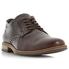 Buy Dune Brewer Derby Leather Shoes Online at johnlewis.com