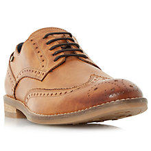 Buy Dune Britannia Leather Brogues, Tan Online at johnlewis.com