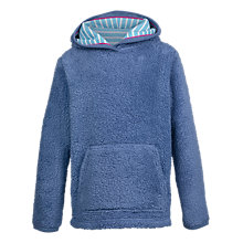 Buy Fat Face Girls' Aloa Popover Fleece Jumper, Stone Online at johnlewis.com