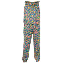 Buy Fat Face Girls' Giraffe Print Woven Jumpsuit, Khaki Online at johnlewis.com