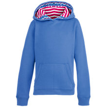Buy Fat Face Girls' Popover Hoodie, Sky Blue Online at johnlewis.com