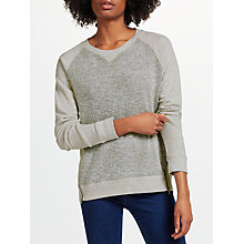 Buy Collection WEEKEND by John Lewis Boucle Front Top, Grey Online at johnlewis.com