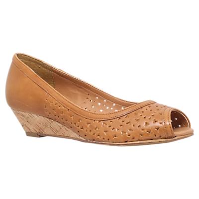 Carvela Sahara Peep Toe Wedge Heeled Sandals