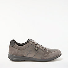 Buy John Lewis Designed for Comfort Elya Lace Up Trainers, Grey Online at johnlewis.com