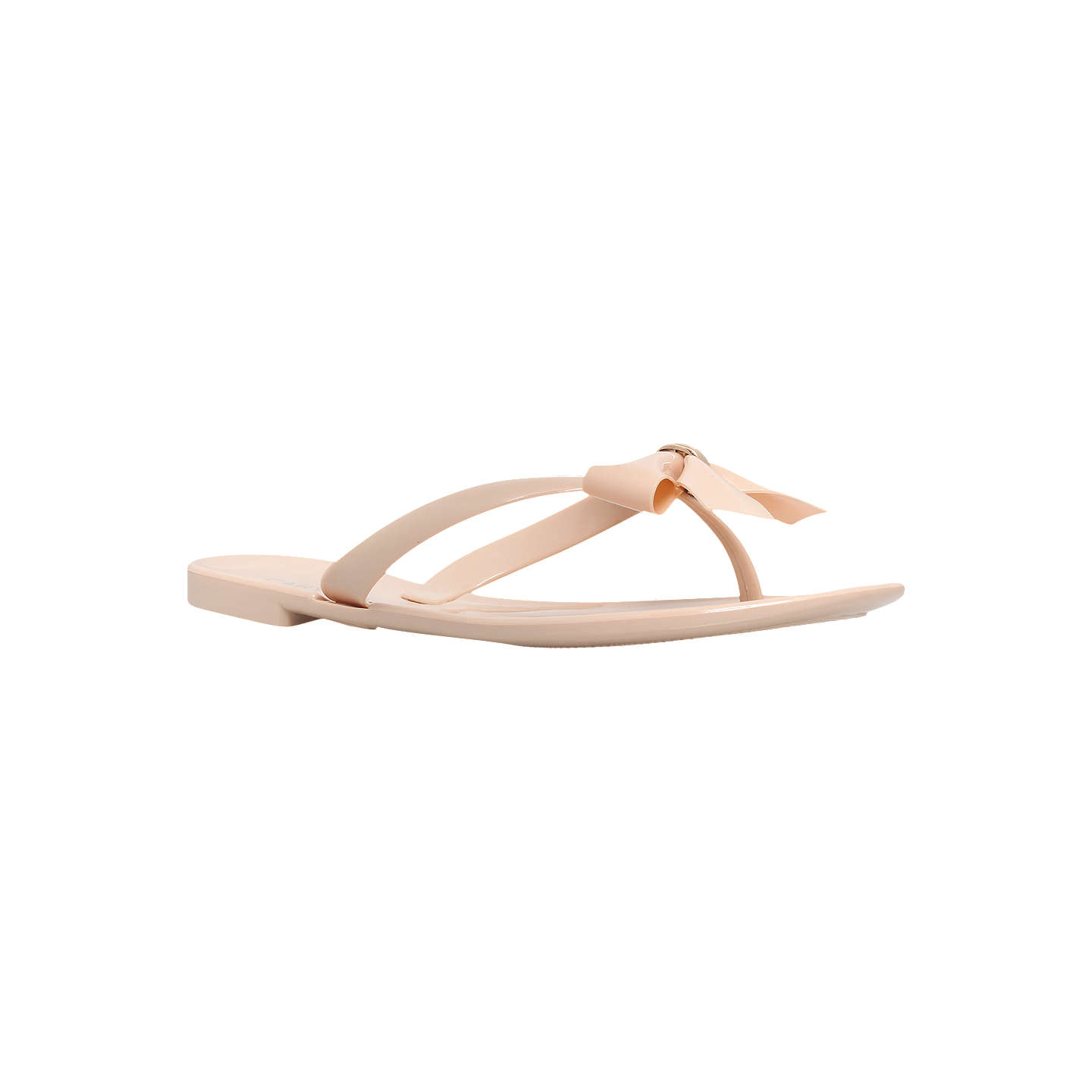 Nude 'Star' flat flip flops discount clearance purchase cheap price cheap new IViy3H