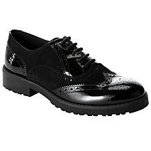 Buy John Lewis Designed for Comfort Fawn Brogues, Black Online at johnlewis.com