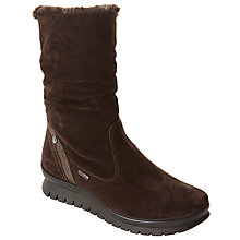 Buy John Lewis Designed for Comfort Papina Waterproof Calf Boots, Brown Online at johnlewis.com