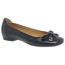 Buy Gabor Natalia Bow Ballet Pumps Online at johnlewis.com