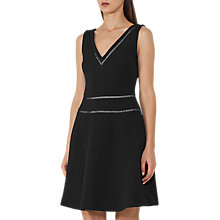 Buy Reiss Nelly Textured Fit and Flare Dress Online at johnlewis.com