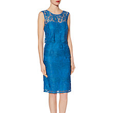 Buy Gina Bacconi Layered Scallop Floral Lace Dress Online at johnlewis.com
