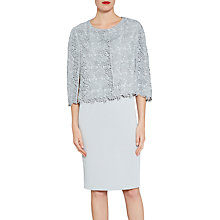 Buy Gina Bacconi Primrose Guipure Lace Cape, Summer Flint Online at johnlewis.com