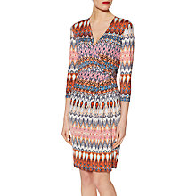 Buy Gina Bacconi Graphic Print Jersey Dress, Multi Online at johnlewis.com