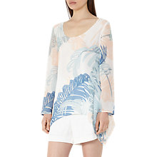 Buy Reiss Silvi Printed Blouse, Multi Online at johnlewis.com