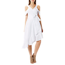 Buy Coast Lucia Dress, Ivory Online at johnlewis.com
