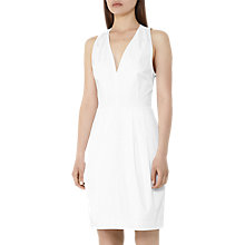 Buy Reiss Rakele Cotton Satin Dress Online at johnlewis.com