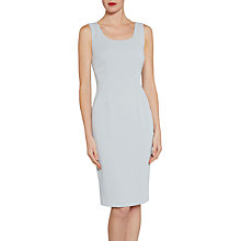 Buy Gina Bacconi Sleeveless Moss Crepe Shift Dress Online at johnlewis.com